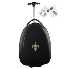 Children's New Orleans Saints Hardshell Wheeled Luggage Pod