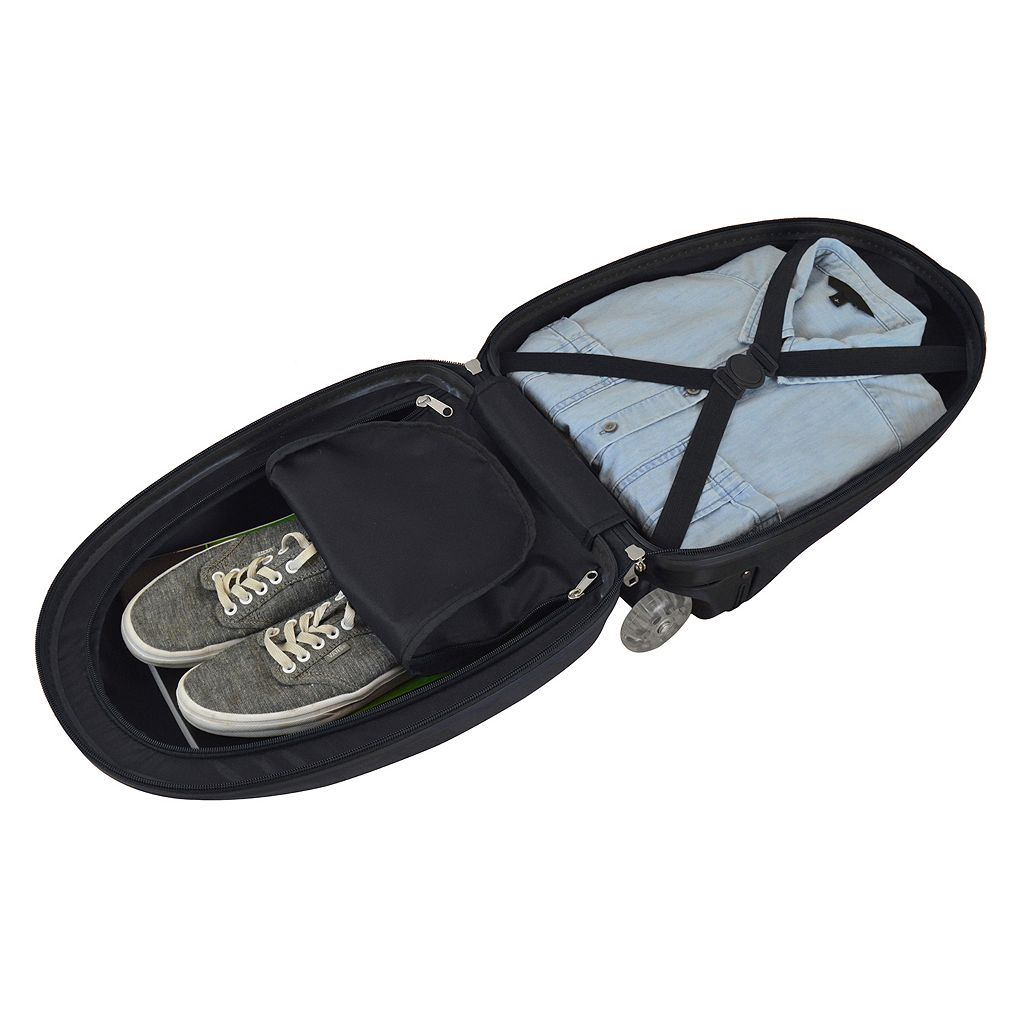 Children's New Orleans Saints Hardshell Wheeled Luggage Pod