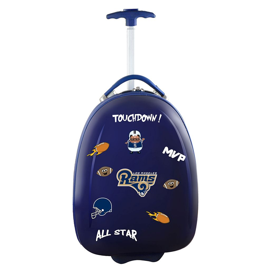 Children's Los Angeles Rams Hardshell Wheeled Luggage Pod