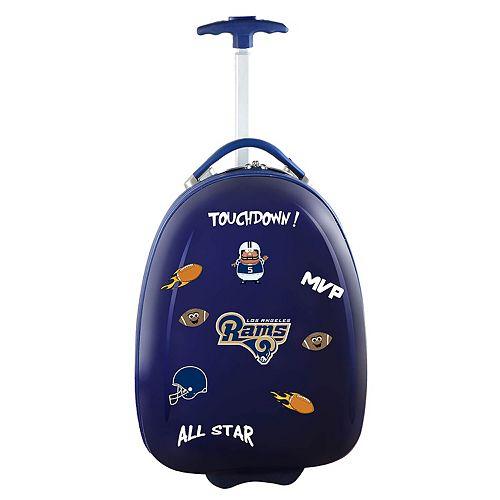 Children's Los Angeles Rams Hardshell Wheeled Luggage Pod