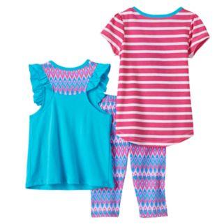 """Toddler Girl Shimmer & Shine """"Born to Shimmer & Shine"""" Tees & Leggings Set"""