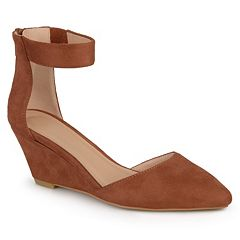 Journee Collection Kova Women's Ankle Strap Wedges