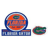 Florida Gators Jumbo Tailgate & Mascot Peel & Stick Decal Set