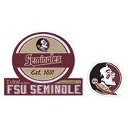 Florida State Seminoles Jumbo Tailgate & Mascot Peel & Stick Decal Set