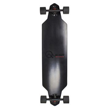Quest Zero Dark 40-Inch Downhill Style Drop Through Performance Skateboard
