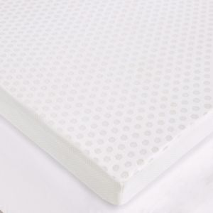 Flexapedic by Sleep Philosophy 3-Inch Gel Memory Foam Mattress Topper with Cooling Cover