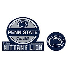 Penn State Nittany Lions Jumbo Tailgate & Mascot Peel & Stick Decal Set