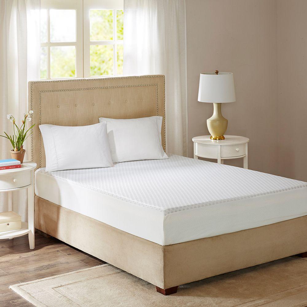 Flexapedic by Sleep Philosophy 10-Inch Gel Memory Foam Mattress with Cooling Cover
