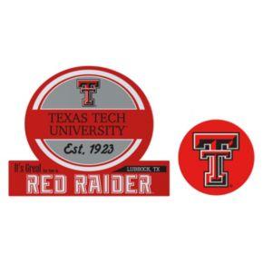 Texas Tech Red Raiders Jumbo Tailgate & Mascot Peel & Stick Decal Set