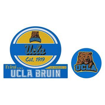 UCLA Bruins Jumbo Tailgate & Mascot Peel & Stick Decal Set
