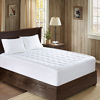 Woolrich Lexington 300 Thread Count Cotton Down Alternative Mattress Pad
