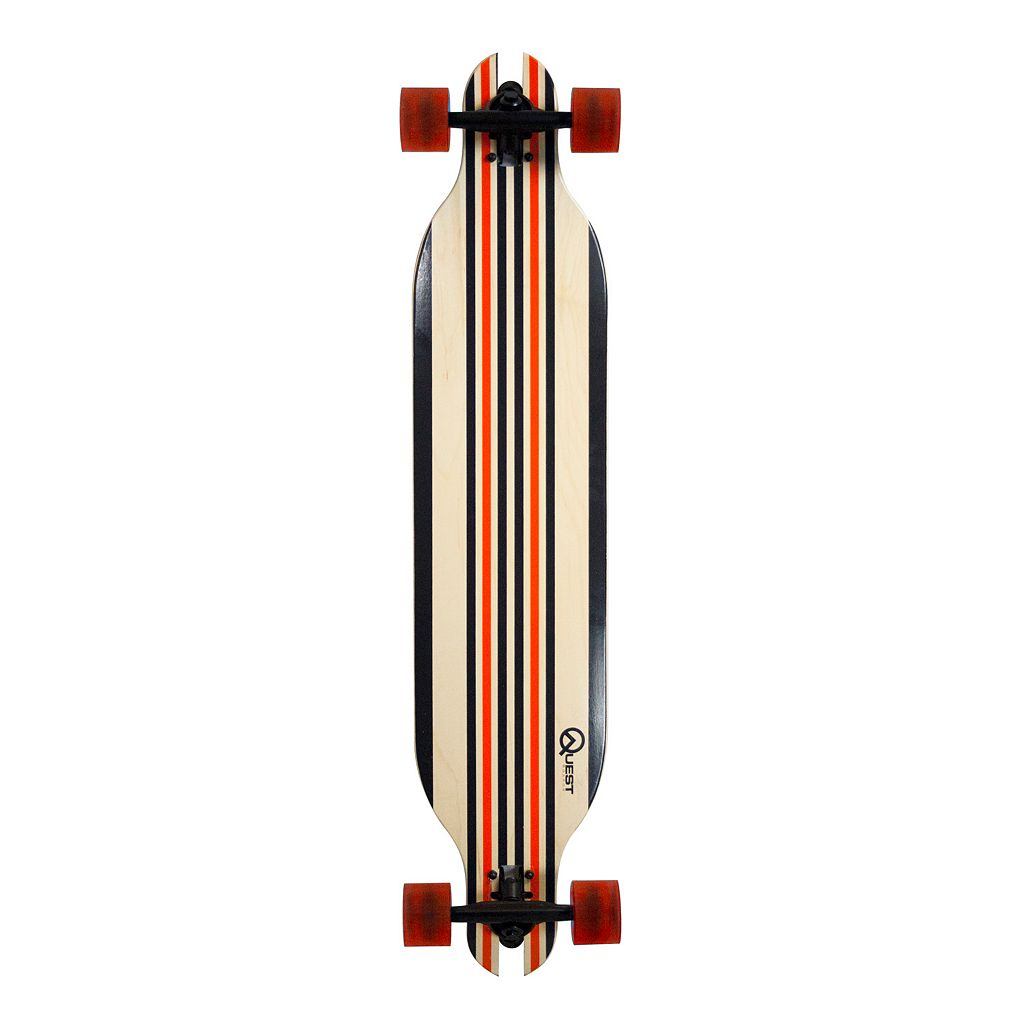 Quest Racer 41-Inch Pro Quality Slot Through Performance Skateboard