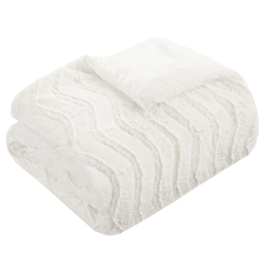 Premier Comfort Lumi Faux Fur Down Alternative Throw