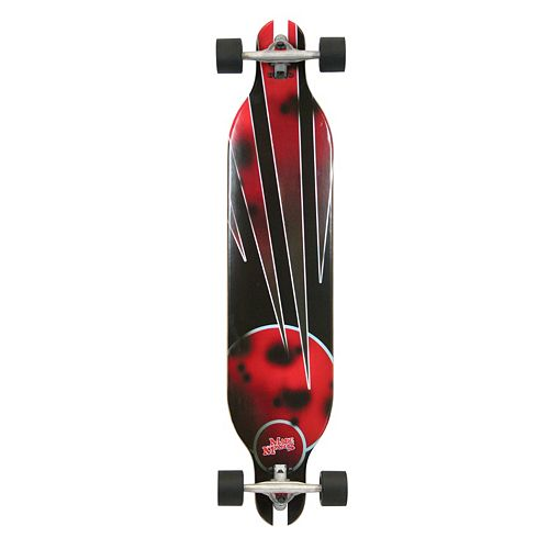 Quest Red Planet 41-Inch Downhill Style Slot Through Performance Skateboard