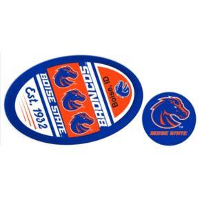 Boise State Broncos Jumbo Tailgate & Mascot Peel & Stick Decal Set