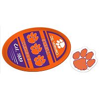 Clemson Tigers Jumbo Tailgate & Mascot Peel & Stick Decal Set