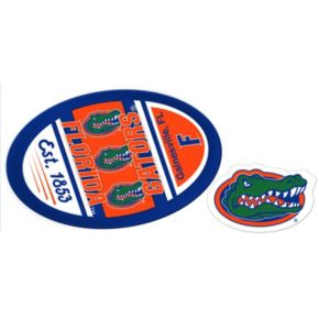 Florida Gators Jumbo Tailgate & Mascot Peel & Stick Decal Set