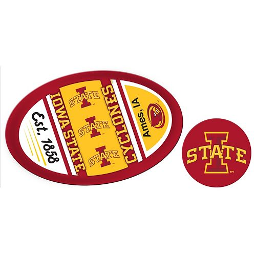 Iowa State Cyclones Jumbo Tailgate & Mascot Peel & Stick Decal Set