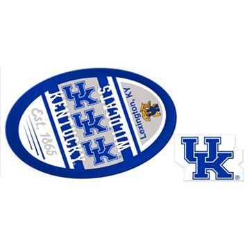 Kentucky Wildcats Jumbo Tailgate & Mascot Peel & Stick Decal Set