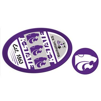 Kansas State Wildcats Jumbo Tailgate & Mascot Peel & Stick Decal Set