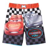 "Disney / Pixar Cars 3 Toddler Boy ""Way Ahead of You"" Swim Trunks by Jumping Beans®"