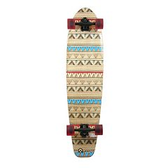 Quest Native Spirit 40-Inch Kicktail Longboard