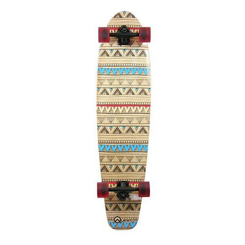 Quest Native Spirit 40-Inch Kicktail Longboard