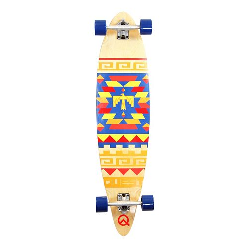 Quest Tribal 40-Inch Pin-Kicktail Longboard