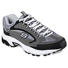 look good shoes sale classic chic huge selection of Mens Skechers Wide Shoes | Kohl's