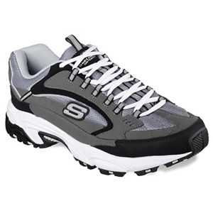 afad84ec8caa Skechers After Burn Memory Fit Strike On Men s Walking Shoes