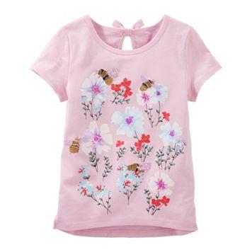 Girls 4-8 OshKosh B'gosh® Bumblebee Garden Graphic Tee