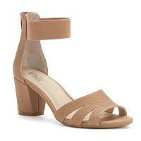Croft & Barrow® Women's Ortholite Block-Heel Sandals