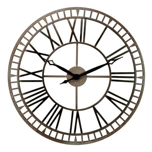 Chaney Metal Wall Clock