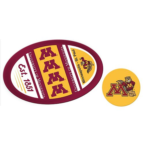 Minnesota Golden Gophers Jumbo Tailgate & Mascot Peel & Stick Decal Set
