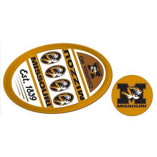 Missouri Tigers Jumbo Tailgate & Mascot Peel & Stick Decal Set