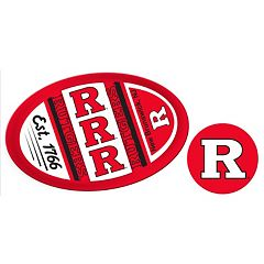 Rutgers Scarlet Knights Jumbo Tailgate & Mascot Peel & Stick Decal Set