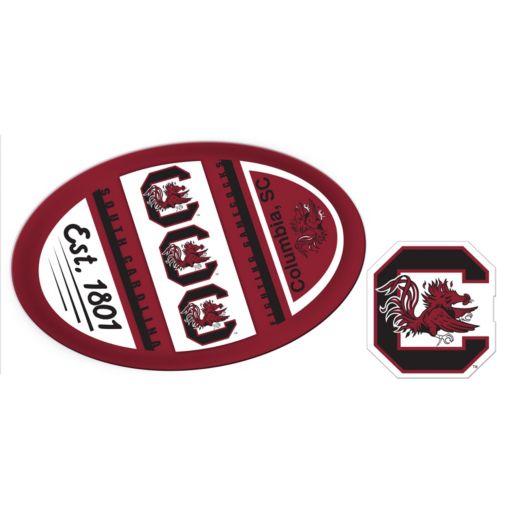 South Carolina Gamecocks Jumbo Tailgate & Mascot Peel & Stick Decal Set