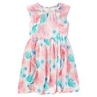 Girls 4-8 OshKosh B'gosh® Print Chiffon Ruffle Dress