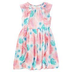 Girls 4-8 OshKosh B'gosh® Print Chiffon Ruffle Dress