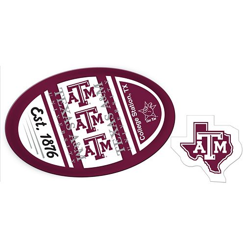 Texas A&M Aggies Jumbo Tailgate & Mascot Peel & Stick Decal Set