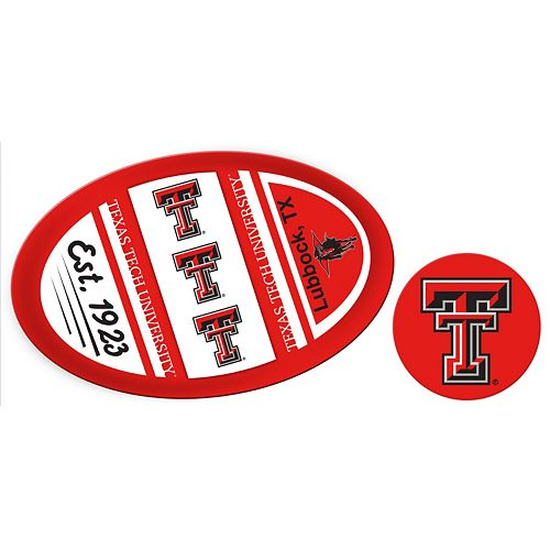 Texas Tech Red Raiders Jumbo Tailgate & Mascot Peel & Stick Decal Set