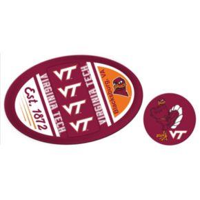 Virginia Tech Hokies Jumbo Tailgate & Mascot Peel & Stick Decal Set