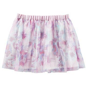 Girls 4-8 OshKosh B'gosh® Floral Tulle Skirt