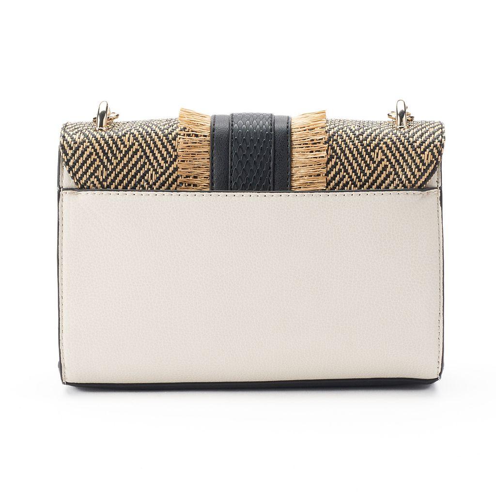 Apt. 9® Jade Straw Crossbody Bag