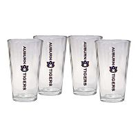 Auburn Tigers 4-Piece Pint Glass Set