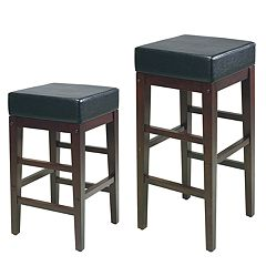 Office Star Products 30 in Square Bar Stool