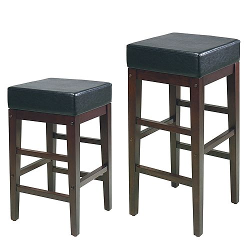 OSP Home Furnishings 30-in. Square Bar Stool