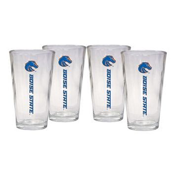 Boise State Broncos 4-Piece Pint Glass Set