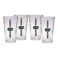 Florida Gators 4-Piece Pint Glass Set