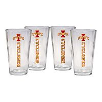 Iowa State Cyclones 4-Piece Pint Glass Set